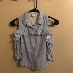Girls button down shirt